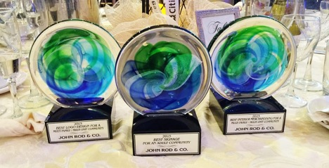JOHN ROD AND COMPANY HONORED WITH FIVE AWARDS at FAME AWARDS!