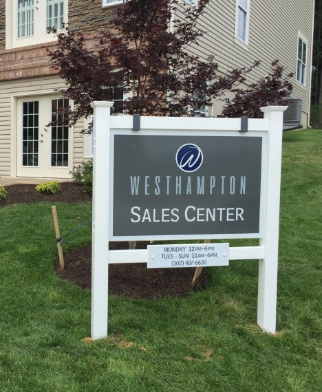 Sales Centers for Home Builders in a Two Car Garage